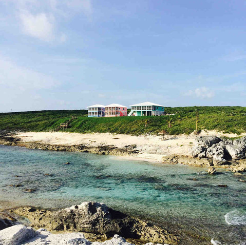 View of Bahama Dreamin from the Atlantic Ocean