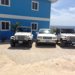 A vehicle is included with each Villa!