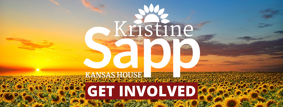 Get Involved in Kristine Sapp Kristine For Kansas