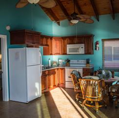 Kitchen in the Villas