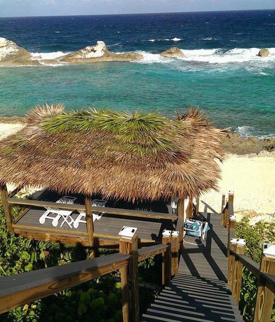 Palapa at Bahama Dreamin