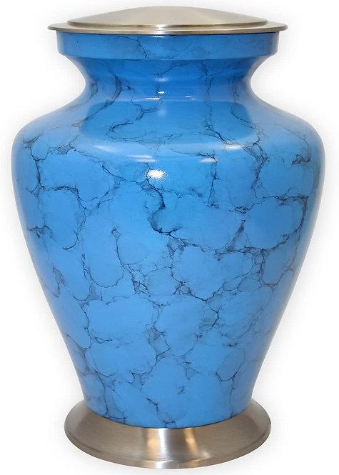 Blue Adult Cremation Urn (Large)