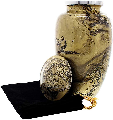 Desert Sands Beautiful Adult Cremation Urn for Human Ashes