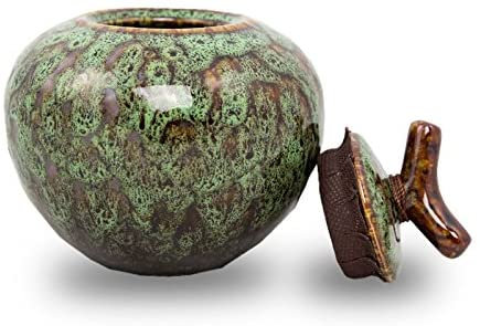 Branch Ceramic Cremation Urn for Ashes - Small