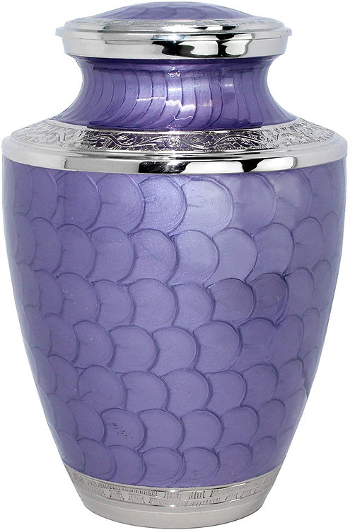 Eternal Peace Beautiful Lavender Adult Cremation Urn for Human Ashes