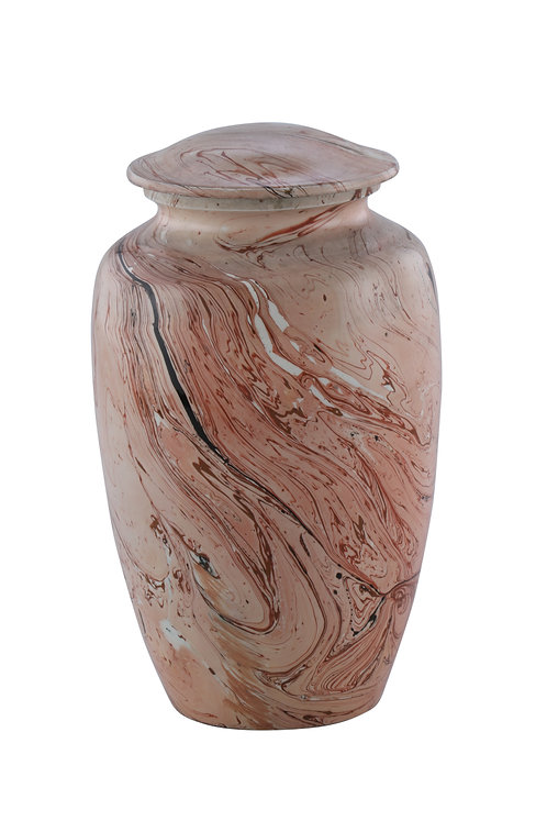 Adult Cremation Urn - Funeral Urn with a Stunning Faux Marble Finish