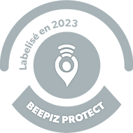 Label Beepiz Argent