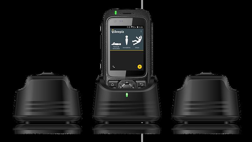 Dock station balise B1 DATI PTI Application Beepiz