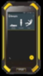 BlackView BV 6000 avec application DATI PTI Beepiz