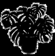 black-silhouette-tropical-plant-pot-isol