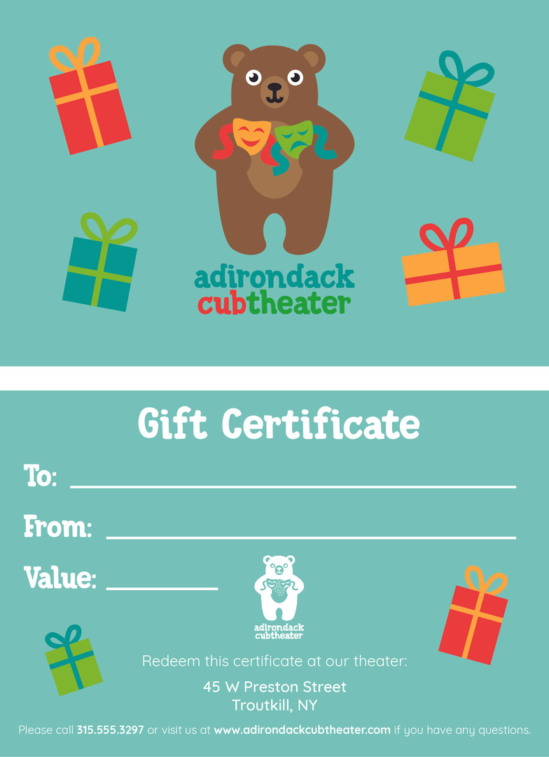 ACT Gift Certificate