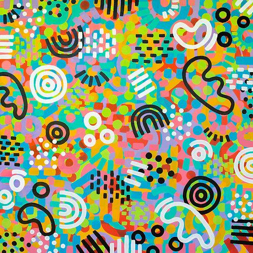 Abstract Print 01