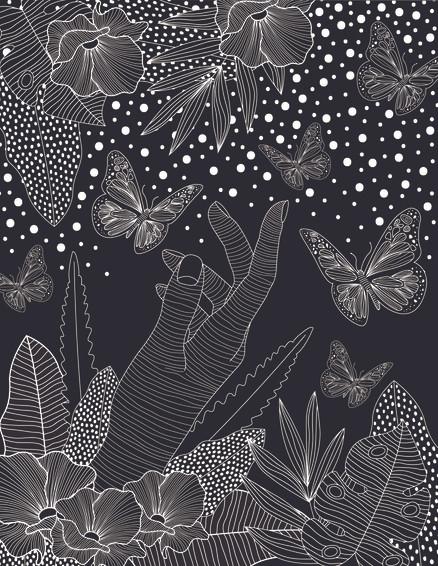 B&W Illustration Series 01