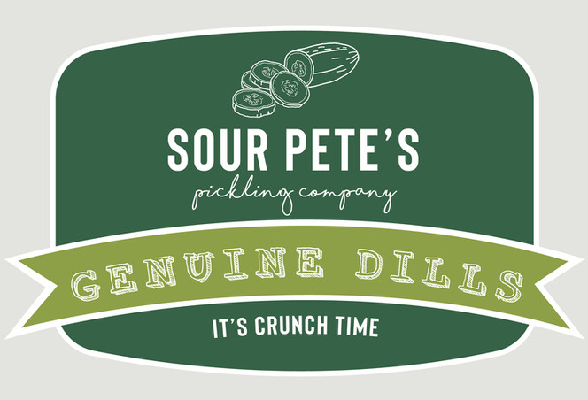 Sour Pete's Label Design