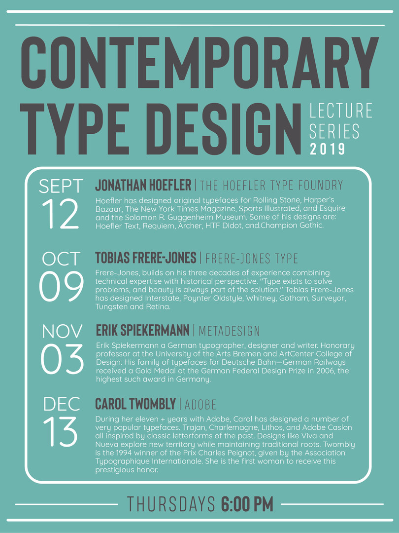 Lecture Series Poster