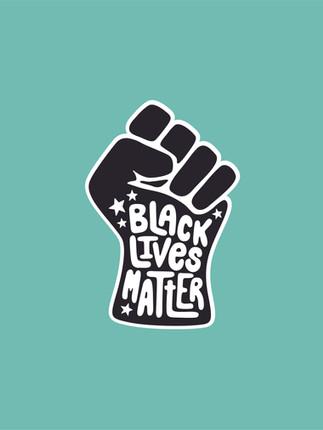 BLM Sticker Design