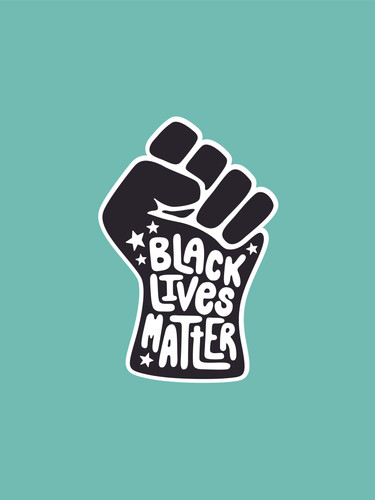 BLM Sticker Design