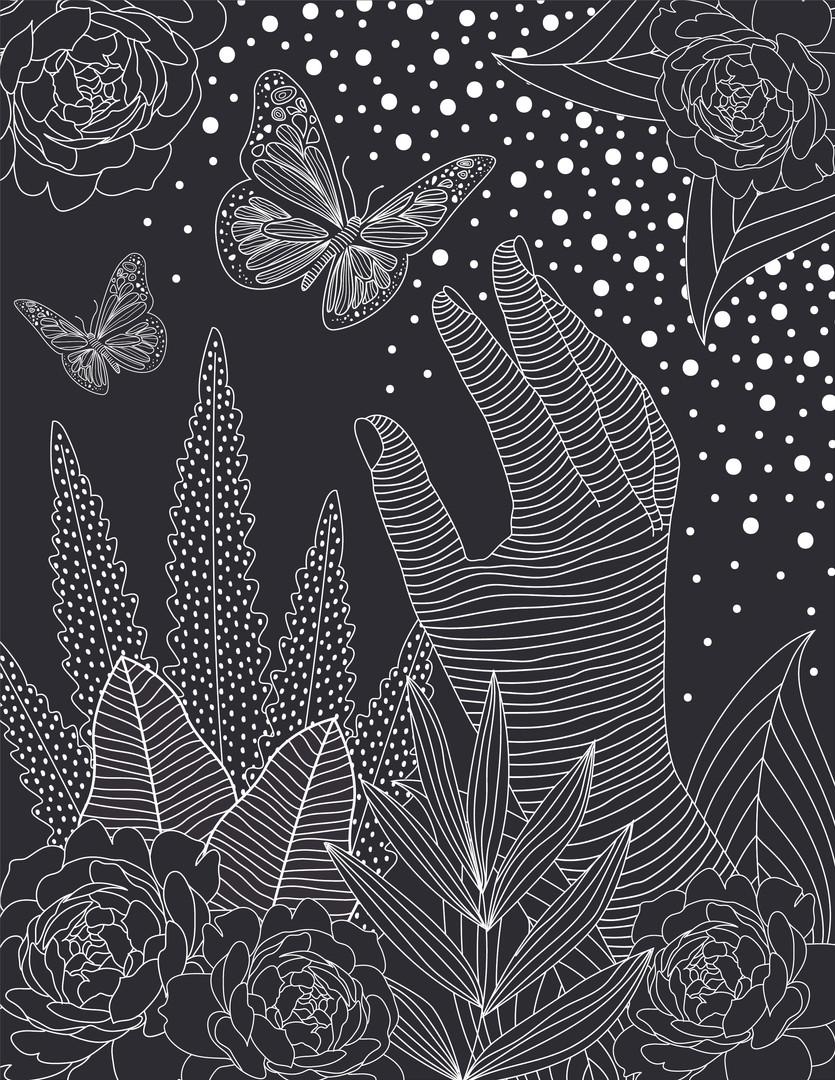 B&W Illustration Series 03