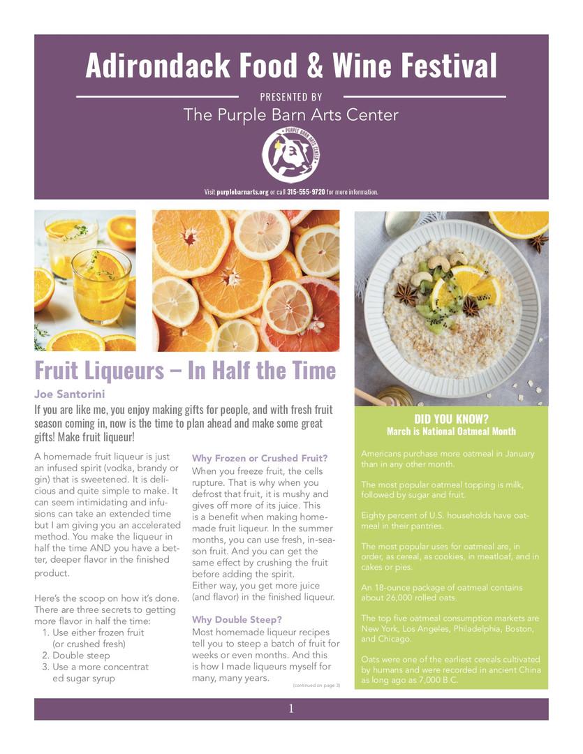 PBAC Newsletter 01