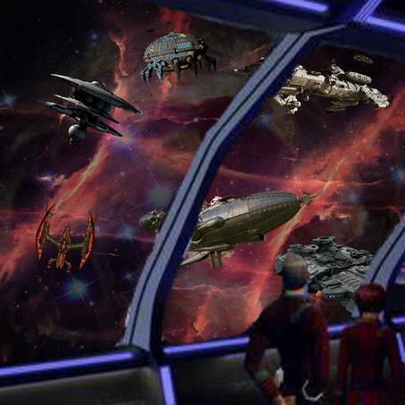 Captain's Log Stardate 74827.43:  December 31st, 2399. Time: 2100 hours.
