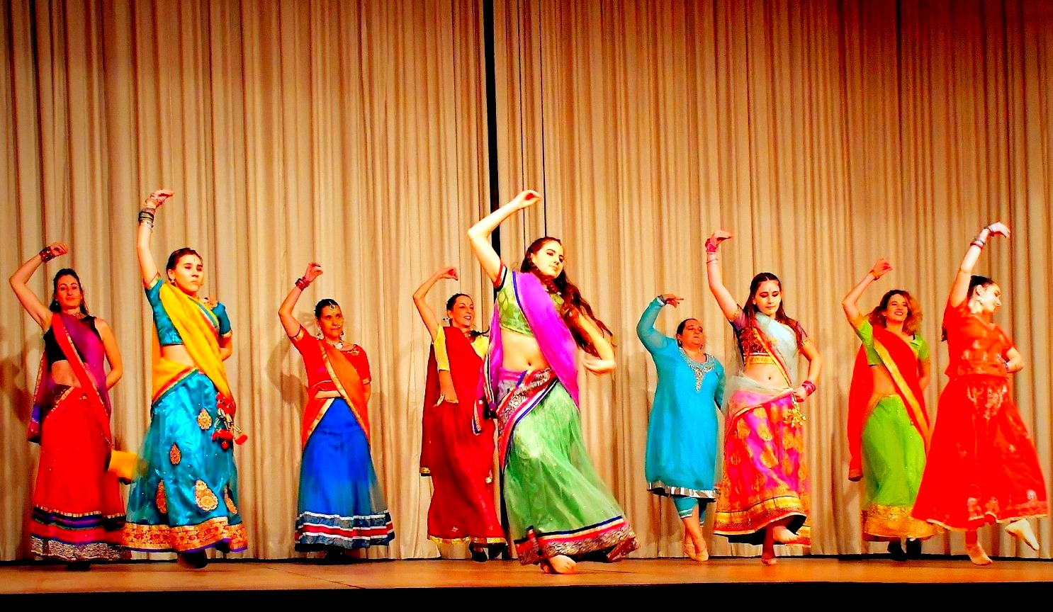 troupe de danse bollywood