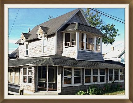 The Flying Seahorse, Oak Bluffs Beach Cottage, Summer Vacation Rental, Martha's Vineyard