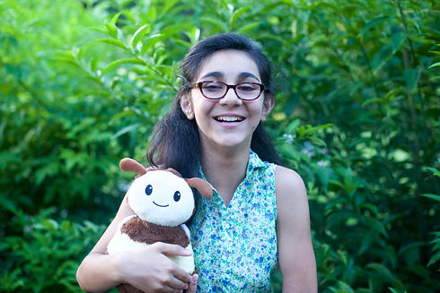 Noor of Imagine Plush, a Washington DC toy company committed to saving bees