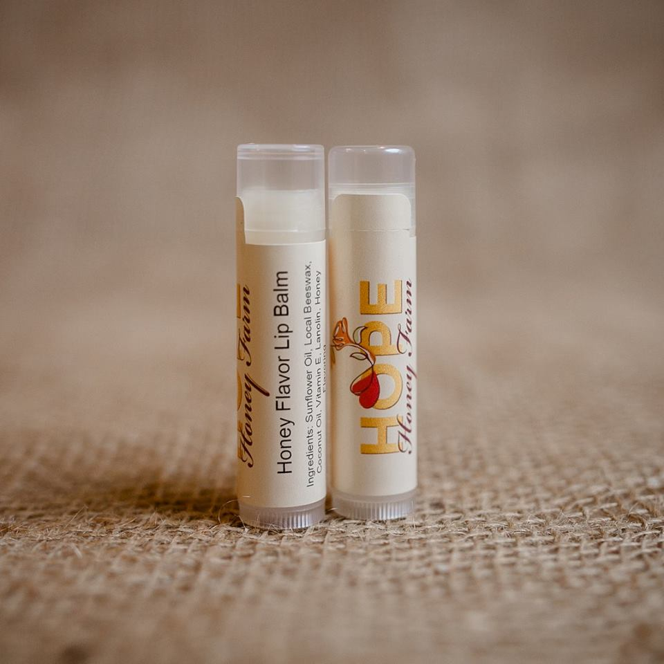Handmade Beeswax Lip Balm