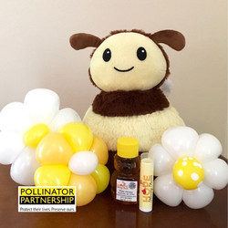 Raw Honey & Plush Gift Set