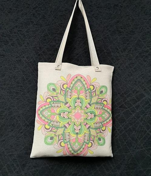 Bolsa Mandala Floral