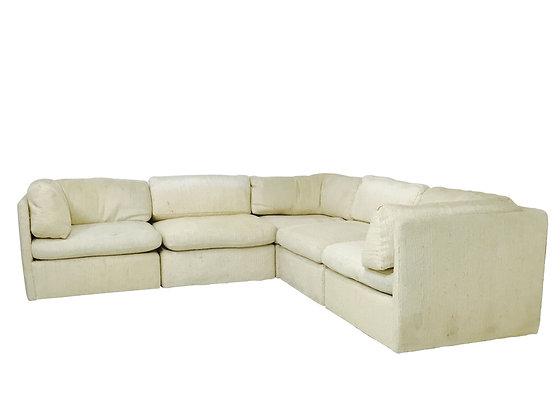 #3072 Milo Baughman Modular Sectional Sofa for Thayer Coggin
