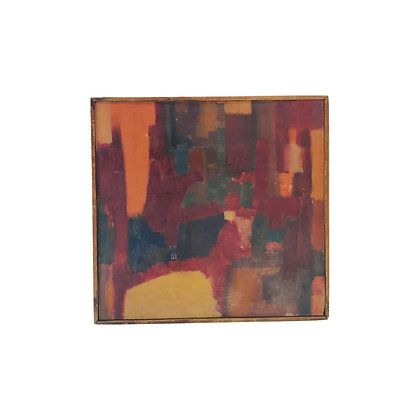 #4777 Abstract Painting on Wood