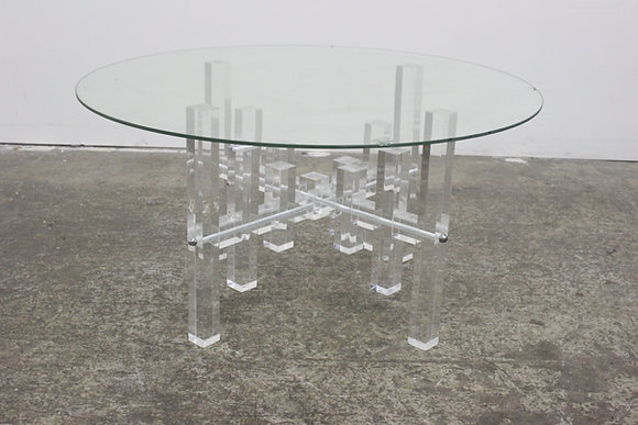 #8830 Lucite Coffee Table