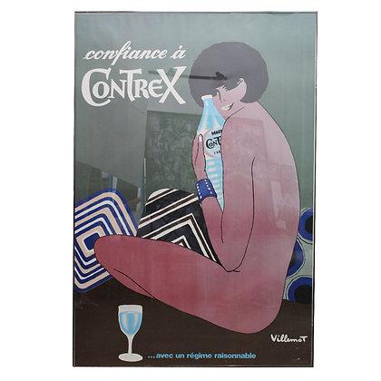 #7328 Large French Framed Poster