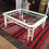 Thumbnail: #2819 Lacquered Regency Coffee Table with Glass Top