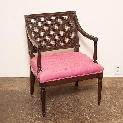 #4671 Wood Wrap Armchair