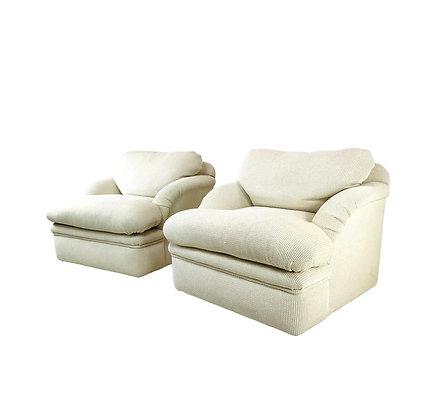 #5154 Pair of J. Robert Scott Lounge Chairs