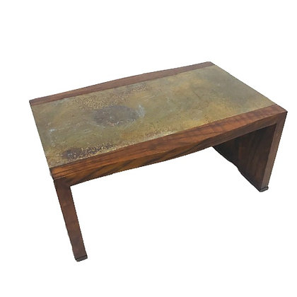 #4790 Heritage Brass Top Coffee Table