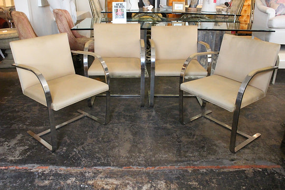 #851 Set of 4 BRNO Chairs