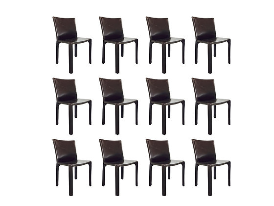 #2741 Mario Bellini Cab Leather Chair (3 chairs available)