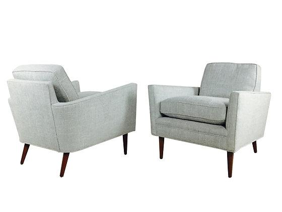 #2127 Pair MCM Club Chairs