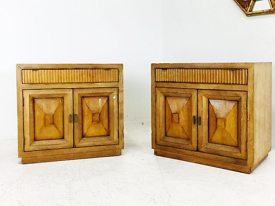 #2662 Pair of Nightstands by Century Furniture