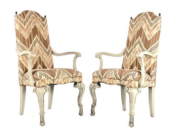 #7299 Pair Regency Chairs