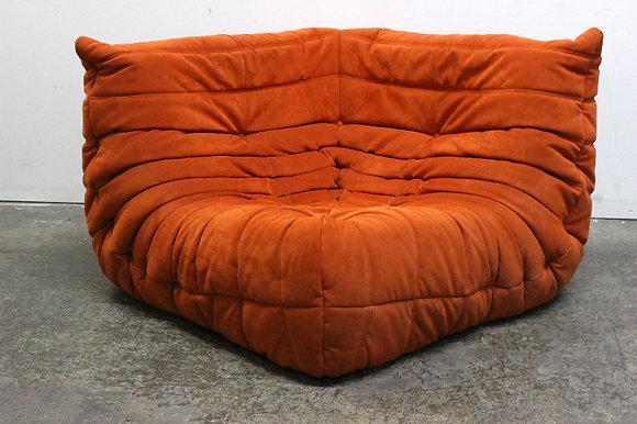 "#1115 1970s ""Togo"" Corner Chair by Ligne Roset"