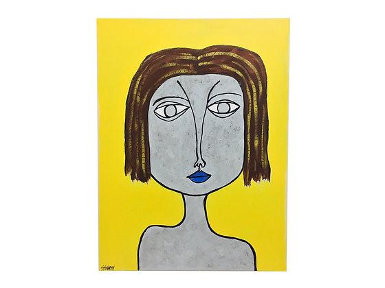 """#2329 """"Ruby June Yellow Girl"""""""