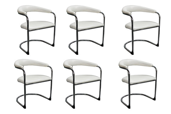 #8024 Set of 6 Thonet Dining Chairs