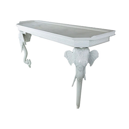 #4897 Gampel Stoll Elephant Console