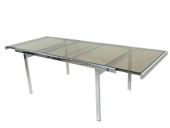 #4259 Milo Baughman Extension Dining Table