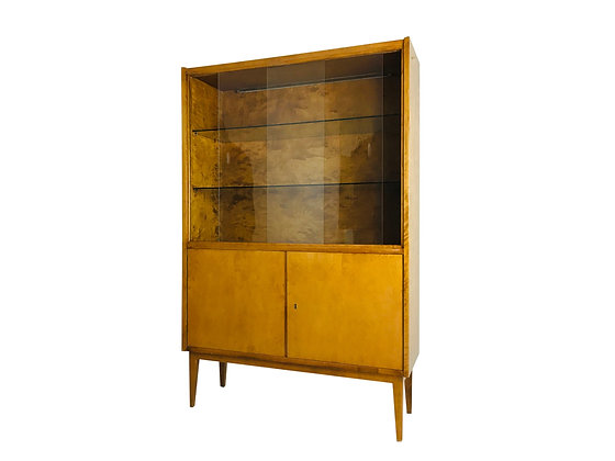 #4482 1950's French Display Cabinet