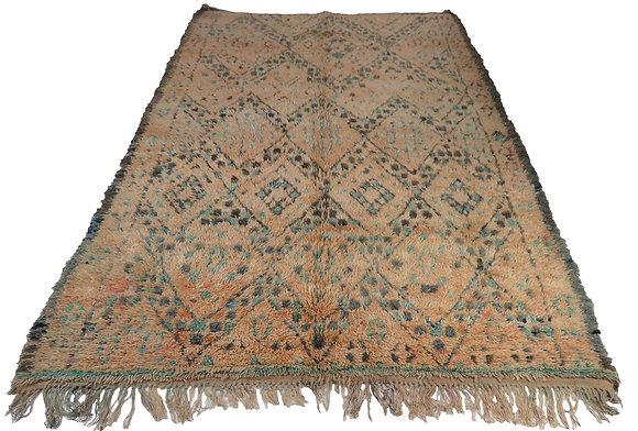 #4530 Vintage Moroccan Zion Rug